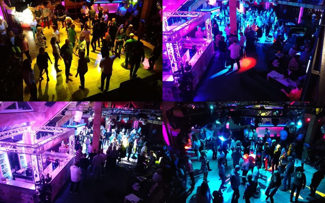 Ersten Fotos der Rodel Weltcup Aftershow Party