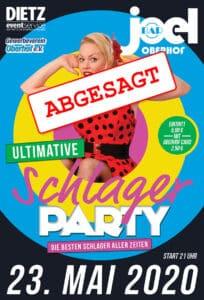 Schlager Party Abgesagt
